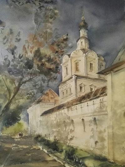 картина церкви Москвы