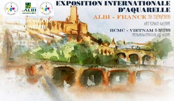 Участник международных выставок живописи Франция