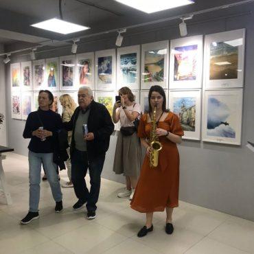выставк акварелей Российских акварелистов